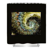 Whirl Shower Curtain