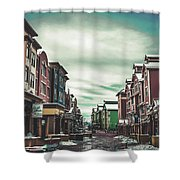 Winter Morning - Park City, Utah Shower Curtain