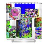 10-21-2015cabcdefghijklmnopqrtuvwx Shower Curtain