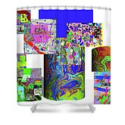 10-21-2015cabcdefghijklmnopqrtuvwxy Shower Curtain