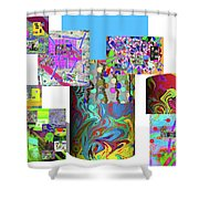 10-21-2015cabcdefghijklmnopqrtuvwxyzab Shower Curtain