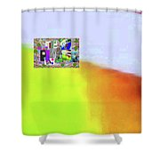 10-31-2015abcde Shower Curtain
