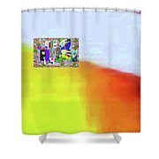10-31-2015abcdef Shower Curtain