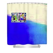 10-31-2015abcdefghijklmnopqrtuvwxy Shower Curtain