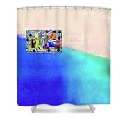 10-31-2015abcdefghijklmnopqrtuvwxyza Shower Curtain