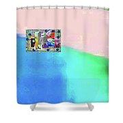 10-31-2015abcdefghijklmnopqrtuvwxyzabc Shower Curtain