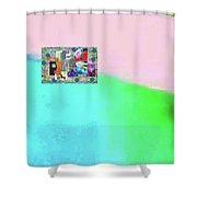 10-31-2015abcdefghijklmnopqrtuvwxyzabcde Shower Curtain