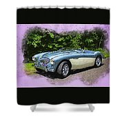1956 Austin Healey 100-4 M  Shower Curtain