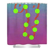 11-6-2015dabcdefghijklmnopqrtuv Shower Curtain