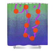 11-6-2015dabcdefghijklmnopqrtuvwxyzabcd Shower Curtain