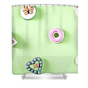 11 Eat Me Now  Shower Curtain