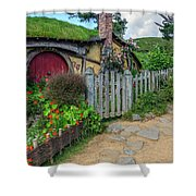 Hobbiton - New Zealand Shower Curtain