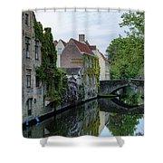 Brugge - Belgium Shower Curtain