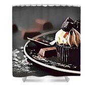 12 Eat Me Now  Shower Curtain