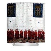 12 Monks Shower Curtain