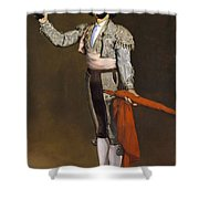 A Matador  Shower Curtain