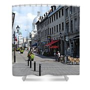 Old Montreal Shower Curtain