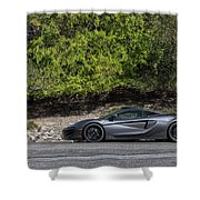#mclaren #600lt #print Shower Curtain by ItzKirb Photography