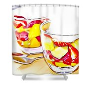 19 Eat Me Now  Shower Curtain