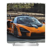 #mclaren #senna #print Shower Curtain by ItzKirb Photography