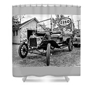 1915 Ford Model T Truck Shower Curtain