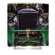 1930's Invicta Roadster In Colour Shower Curtain