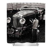 1930's Aston Martin Convertible Shower Curtain
