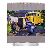 1931 Ford Model A 5 Window Coupe Shower Curtain