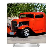 1932 Ford 3 Window Coupe  Shower Curtain
