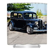 1933 Buick 50 Series Shower Curtain