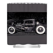 1934 Ford Pickup Hot Rod Shower Curtain