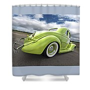 1935 Ford Coupe Shower Curtain