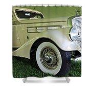 1935 Pierce Arrow Shower Curtain