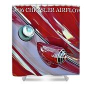 1936 Chrysler Airflow B Shower Curtain
