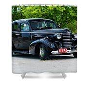 1937 Oldsmobile F 37 Shower Curtain