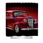 1938 Chevrolet Master Deluxe Sedan Shower Curtain