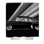 1950 Chevrolet Custom Deluxe Coupe Shower Curtain