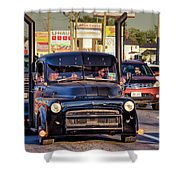 1951 Dodge Fargo Tractor Truck Shower Curtain