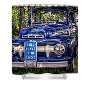 1951 Mercury Pickup Truck Shower Curtain