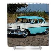 1956 Chevrolet 210  Shower Curtain