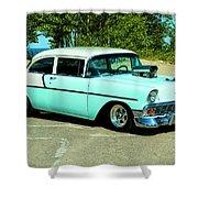 1956 Chevrolet Custom Model 2010  Shower Curtain