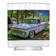 1966 Chevrolet C10 Pickup Truck Shower Curtain