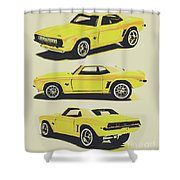 1969 Camaro Shower Curtain