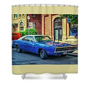 1970 Dodge Charger R/t Shower Curtain