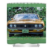 1970 Ford Torino Gt Shower Curtain