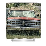1971 Ford Pickup Truck For Sale In Utah Shower Curtain