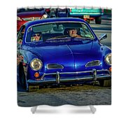 1974 Volkswagen Karmann Ghia  Shower Curtain