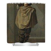 A Standing Man  Shower Curtain