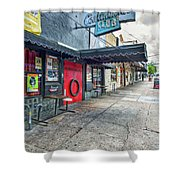 Austin Continental Club  Shower Curtain
