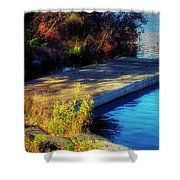 Autumn Colors In Kearney Lake Shower Curtain